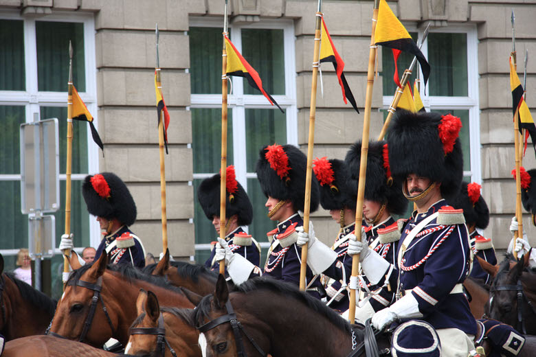 Défilé Militaire du 21 Juillet pour la Fête Nationale Belge