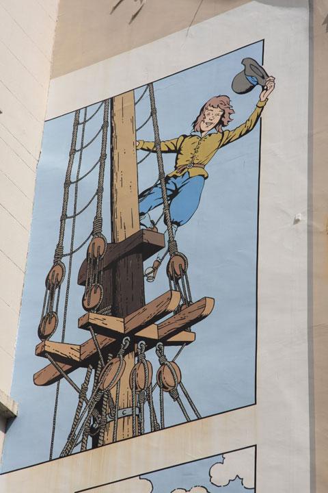Cori le Moussaillon mural