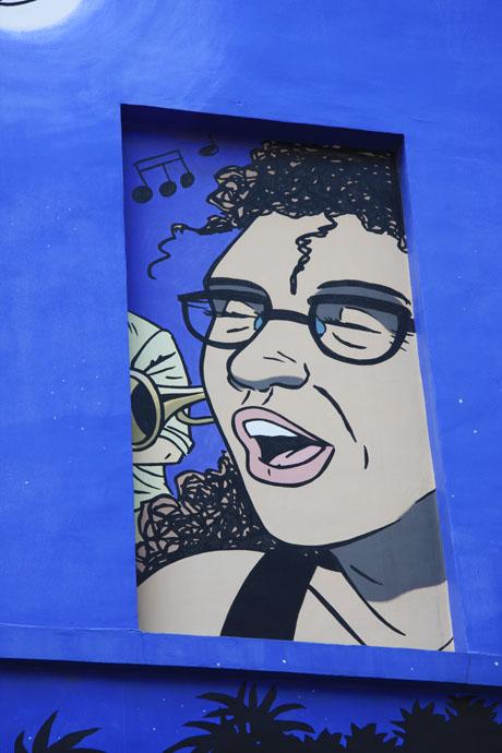 Caroline Baldwin mural
